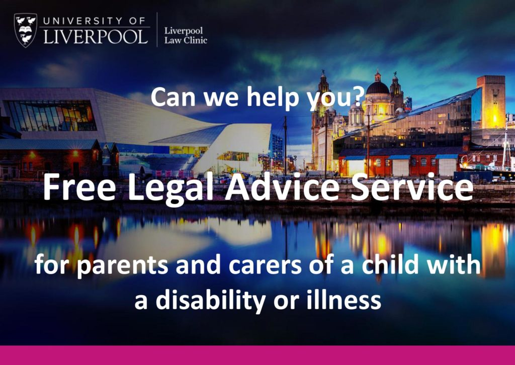 Free legal advice flyer page 1. Download in an accessible format at the bottom of the page