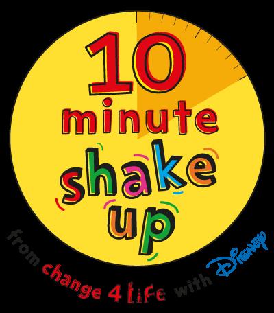 10 minute shake up logo