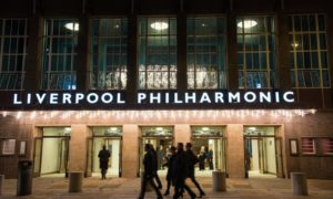 Exterior shot of Liverpool Philharmonic Hall