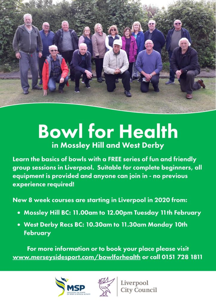 Bowl for Health poster - text repeated below in readable format