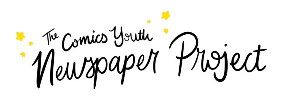 Comics Youth Newspaper Project Logo
