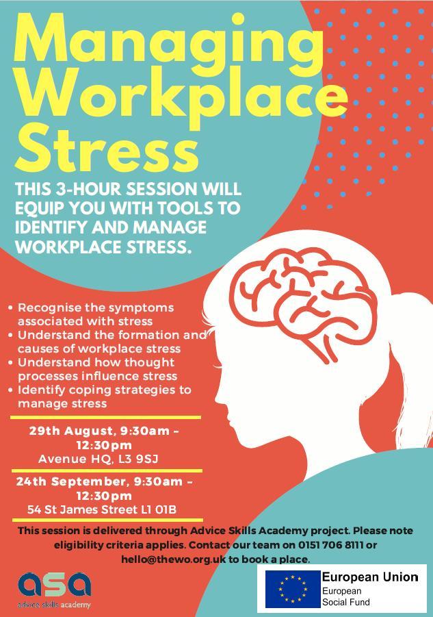 Managing Workplace Stress, Free Training