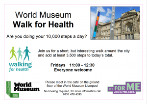 World Museum Walk for Health