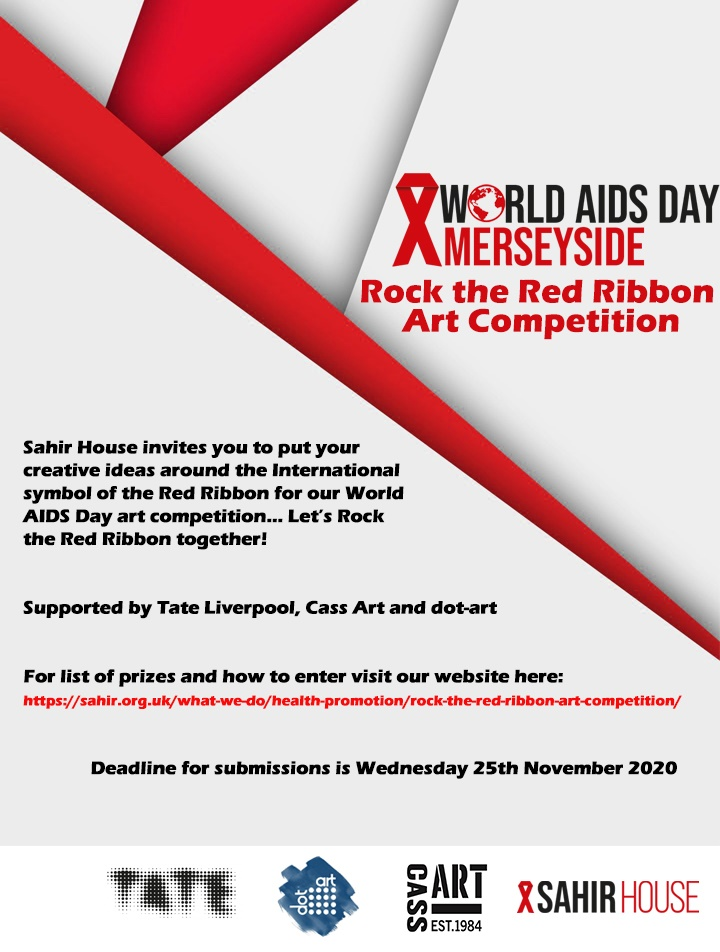 Rock the red ribbon flyer, text repeated below