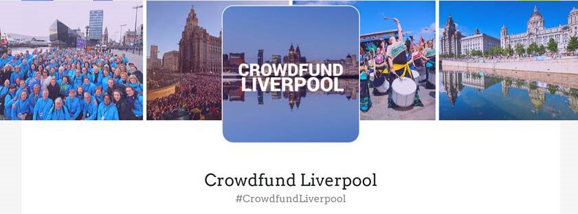 Crowdfund Liverpool header banner with logo